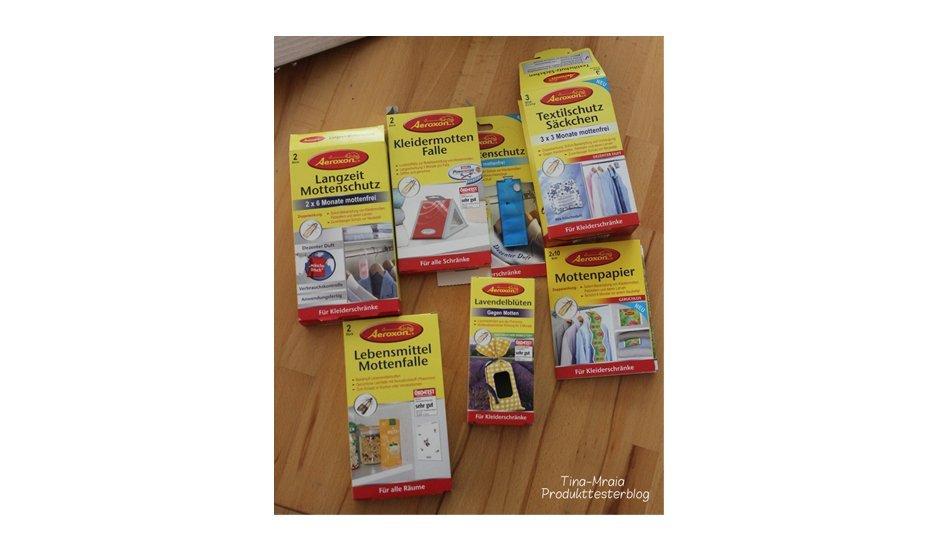 Aeroxon Mottenschutz Produkte im Test
